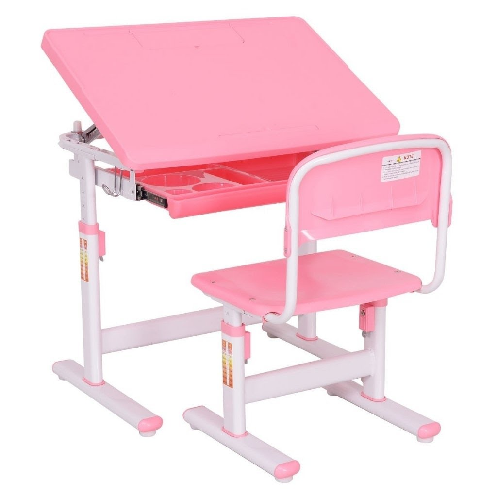 Height Adjustable Children Desk Chair Set Ba Toddler .