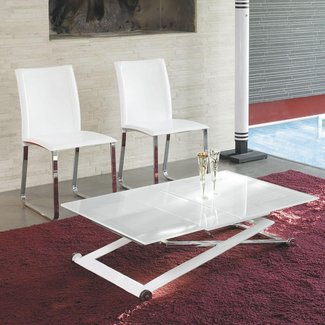 Height Adjustable Coffee Table Expandable Into Dining ...