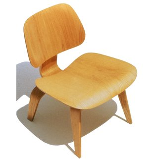 Herman Miller Eames® Molded Plywood Lounge Chair - Wood ...