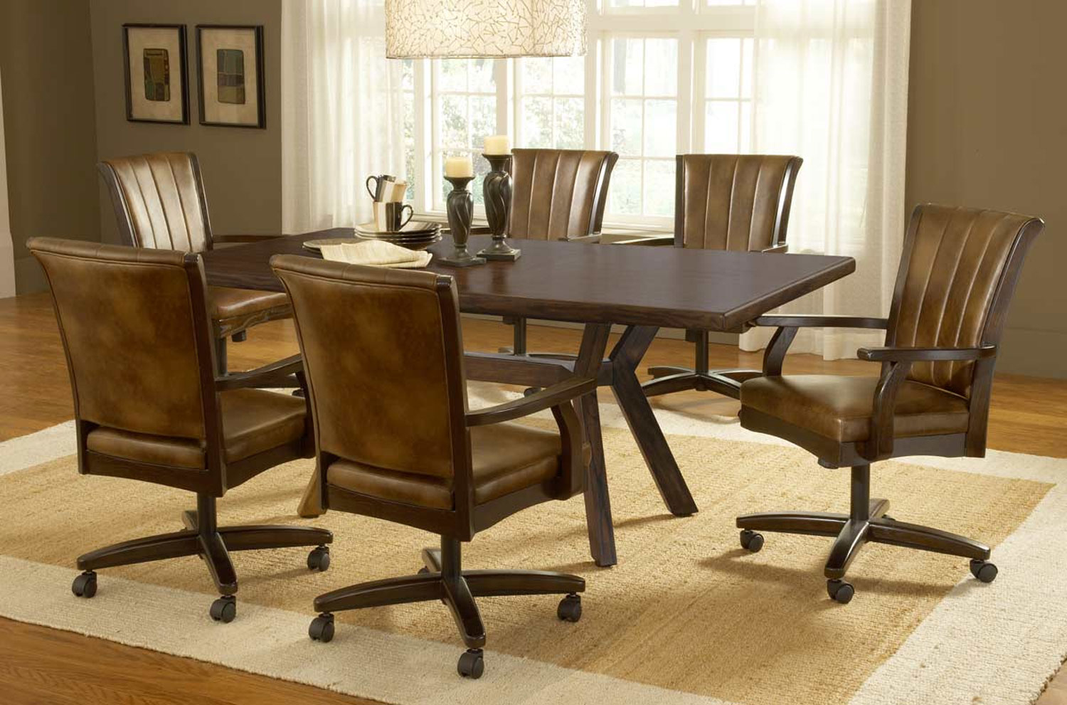 Dinette Sets With Caster Chairs You'll Love in 9   VisualHunt