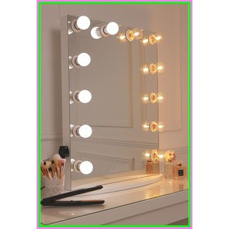 Hollywood Glow Vanity Mirror With LED Bulbs - LullaBellz