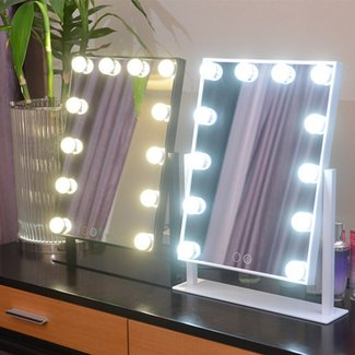 Hollywood Led Mirror -Vanity Mirror with Light Bulbs ...