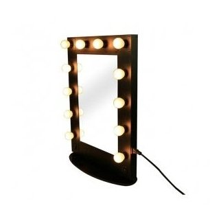 Hollywood Style Makeup Mirror With Lights - Mugeek Vidalondon