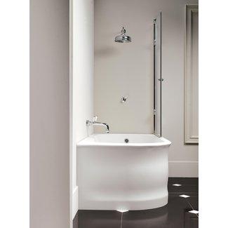 Home Decor Small Corner Tub Shower Combo Bathroom Wall