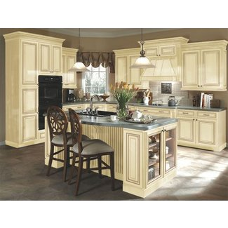 Home Interior Gallery Antique White Kitchen Cabinet