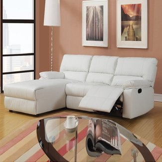 HomeOfficeDecoration | Small sectional sofa with recliner