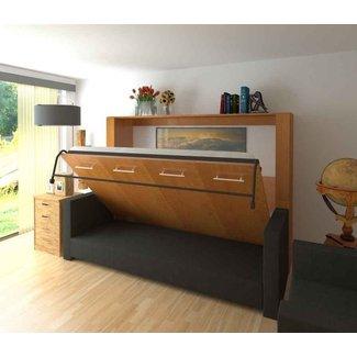 Horizontal Murphy Bed With Desk – Sentogosho