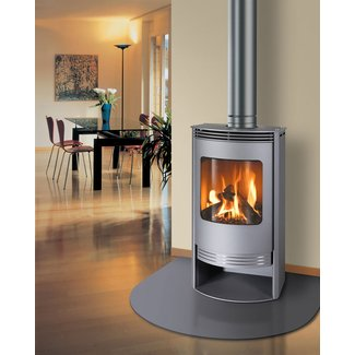 How To Install A Free Standing Gas Fireplace Modern |