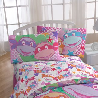 I Love TMNT 3 Piece Sheet Set