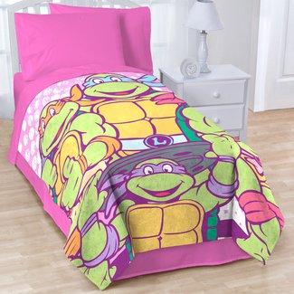 I Love TMNT Blanket