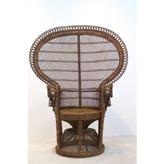 Iconic Rattan Peacock Chair, 1970s at 1stdibs