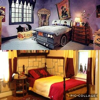 harry potter room decor visual hunt 15530 | ideas for a harry potter theme room design dazzle s wh2