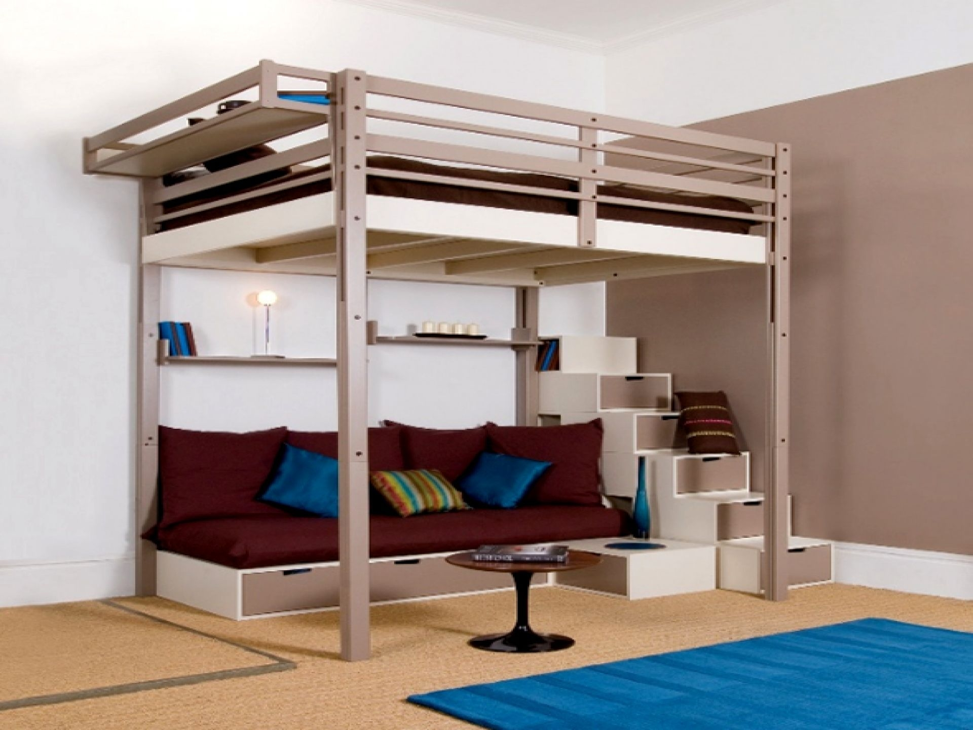 Ikea Full Size Loft Bed With Desk