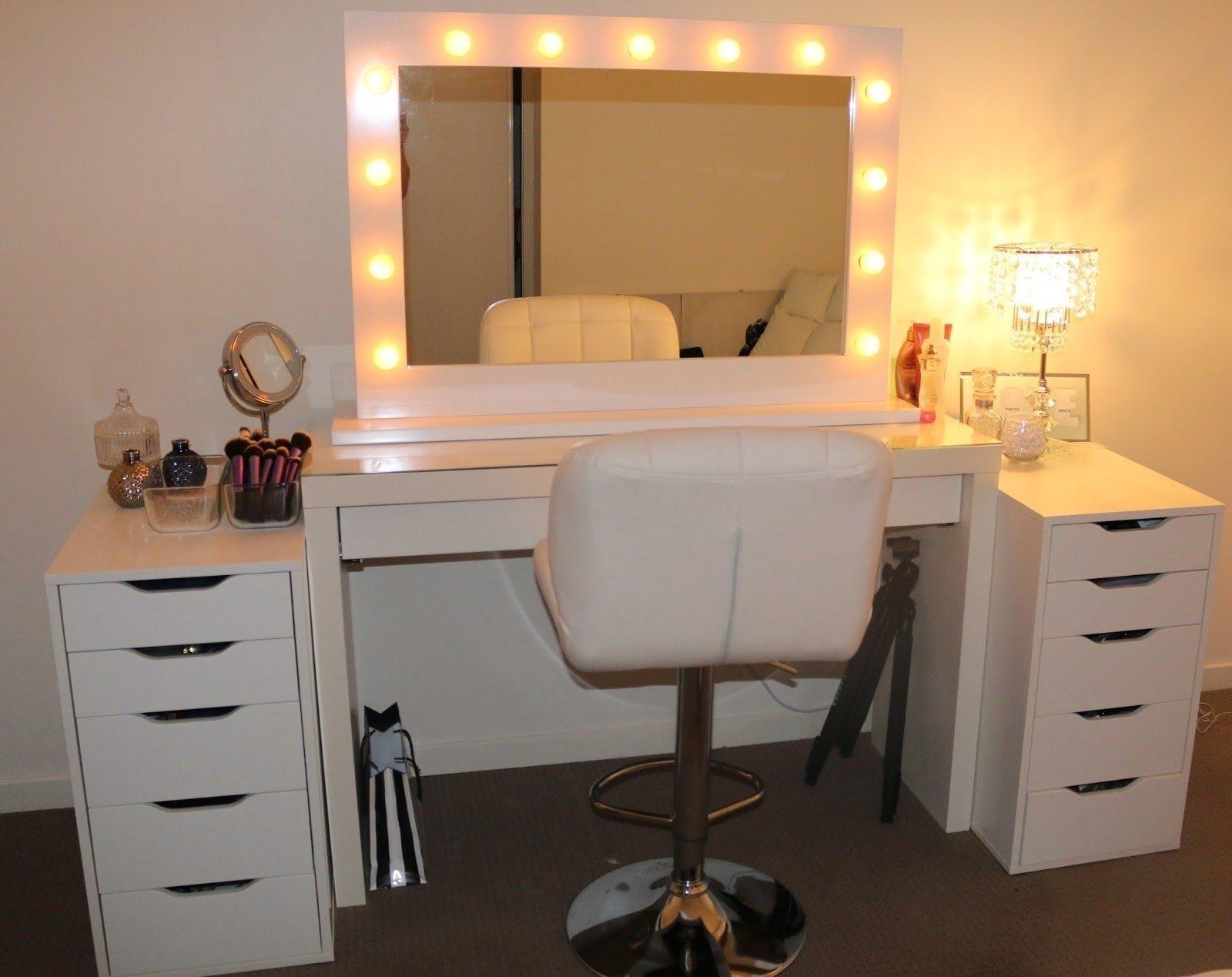 Ikea Makeup Mirror With Lights   Makeup Vidalondon
