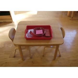 Image Gallery Montessori Table
