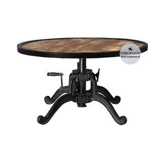 Industrial Adjustable height Coffee Table