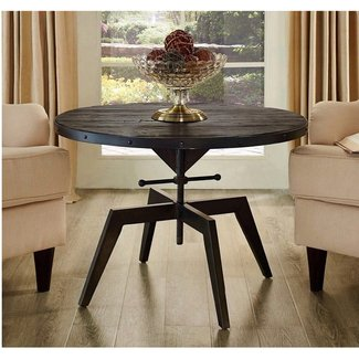industrial Metal Kitchen Dining Table /Side Table / End Table / Coffee Table Outdoor Camping Picnic Table Chairs Dining Room Sets height adjustble