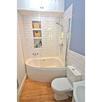 Interior : Bathroom Tub And Shower Ideas Glass Block ...
