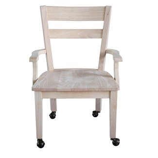 International Concepts Unfinished Dining Chair with ...