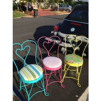 Items similar to Vintage Ice Cream Parlor Chairs on Etsy