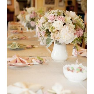 Kara's Party Ideas Shabby Chic Baby Shower Planning Ideas ...