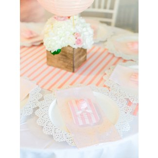 Kara's Party Ideas Shabby Chic Hot Air Balloon Baby Shower