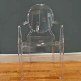 "Kartell ""Louis Ghost"" Acrylic Chair by Philippe Starck : EBTH"