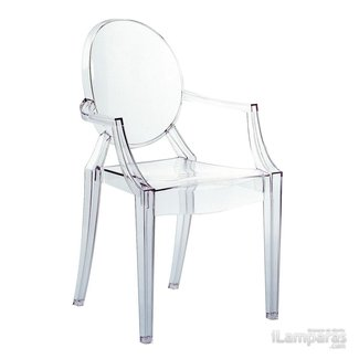Kartell Louis Ghost Chair | #aim2build | Pinterest