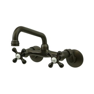 Kb 2 Handle Wall Mount Kitchen Faucet