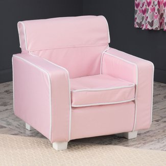 KidKraft Pink Laguna Chair with Slip Cover - 18601