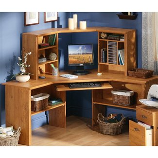 Kids Corner Desk with Hutch - Decor IdeasDecor Ideas