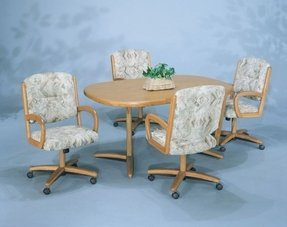 Dinette Sets With Caster Chairs You Ll Love In 2021 Visualhunt