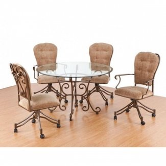 Kitchen Dinette Sets With Swivel Chairs - kitchen dinette ...