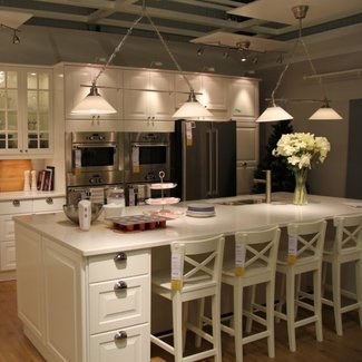 Kitchen Island With Bar Stools - Visual Hunt
