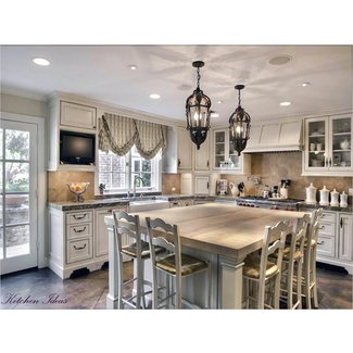 Kitchen Serenity with French Country Kitchen Table - My ...