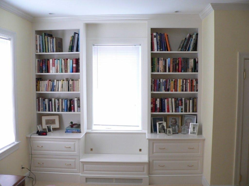 Kitchen Window Ideas, Window Seat With Storage Cabinets .