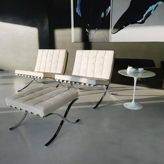 Knoll International Barcelona stool by Ludwig Mies van der ...