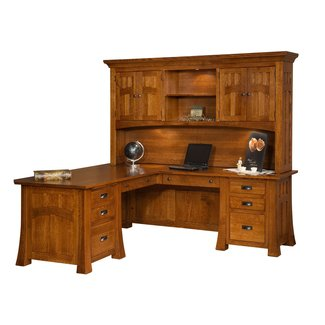 L Corner Desk With Hutch Rooms