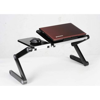 Laptop Desk On Bed - Ergonomic Laptop Stand Slash Tray