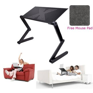 Laptop Table Stand Tray For Sofa Bed Black · Dpthings Store