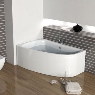 Large and Small Laguna Corner Baths at Bathroom CIty