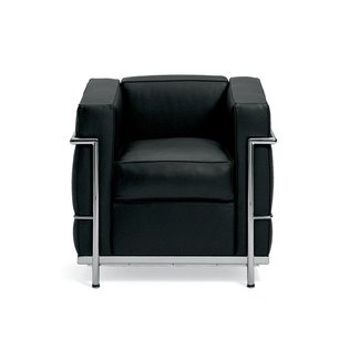 Le Corbusier Petit Comfort Leather Lounge Chair