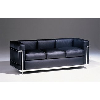 Le Corbusier Petit Comfort Leather Sofa