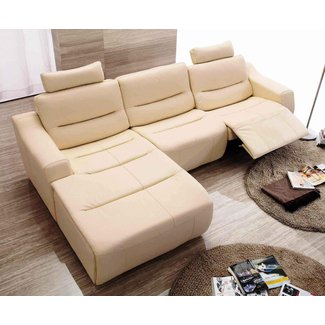 Leather Sectional Sofas With Recliners | Leather Sectional ...