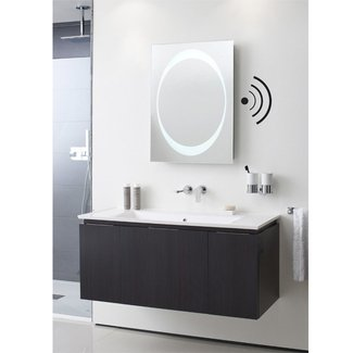 Led lit mirrors, led bathroom wall mirrors best lighting ...
