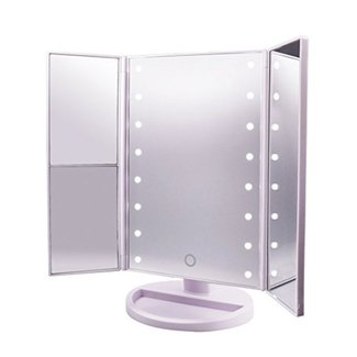 LED Vanity Mirror (3 Sides Small Round Led's) – Best