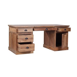 Lembar Reclaimed Wood Desk | eBay