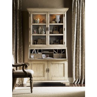 Lexington Twilight Bay Colette Secretary Desk with Hutch ...