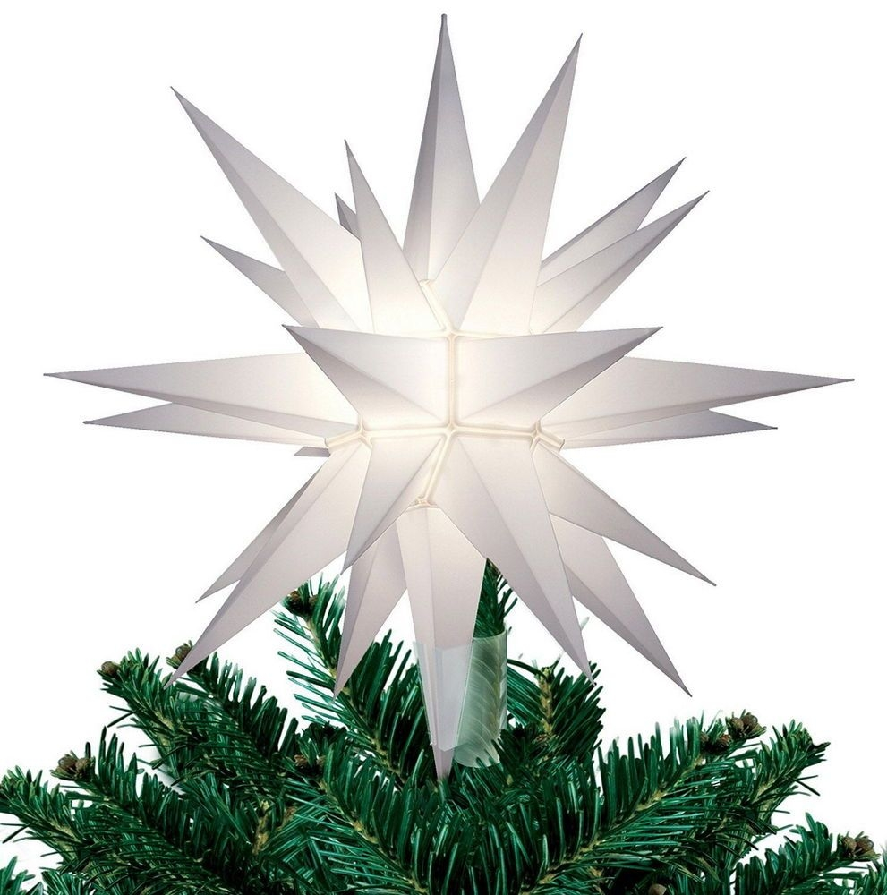 Lighted Christmas Tree Toppers Visual Hunt