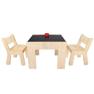 Little Helper FunStation Duo Toddler Table and 2 Chair Set